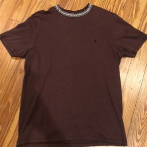 Other - Volcom x K.W. Collab Crew Tee Brown